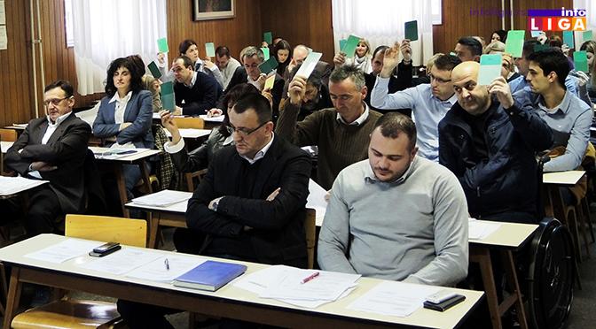 Ivanjički parlament usvojio rebalans budžeta