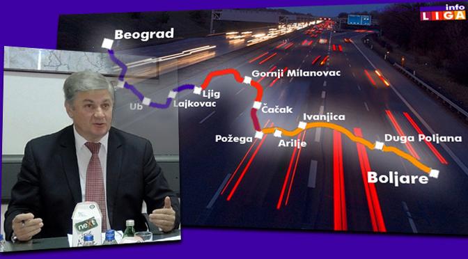 Jolović: Trasa autoputa je definisana prostornim planom Srbije