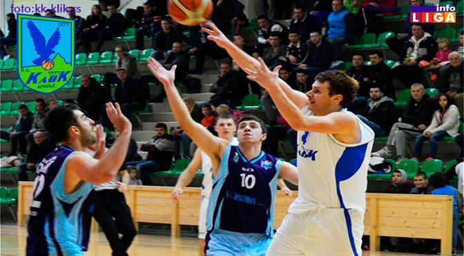 Klik ostvario petu pobedu, u subotu gostuje u Novoj Varoši