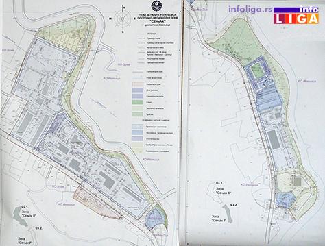 """IL-plandetaljan Prezentacija plana proizvodno poslovne zone """"Senjak"""""""