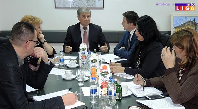 U Ivanjici održana sednica Moravičkog upravnog okruga