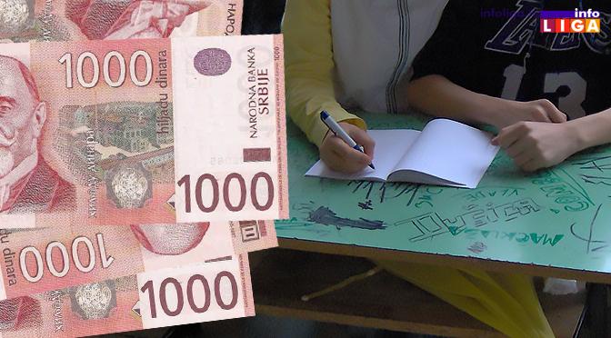 Po 4.000 dinara za najugroženije učenike