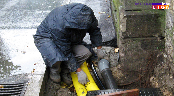 Deo Ivanjice bez vode – cisterna kruži gradom