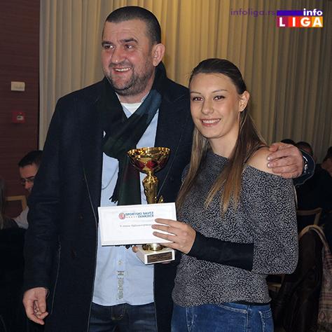 IL-SG-Milica-Perisic Izabrani najbolji sportisti Ivanjice