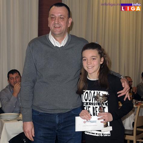 IL-SG-Teodora-Jeremic Izabrani najbolji sportisti Ivanjice