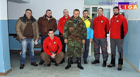 IL-spasioci Spašeni zavejani radnici na Goliji
