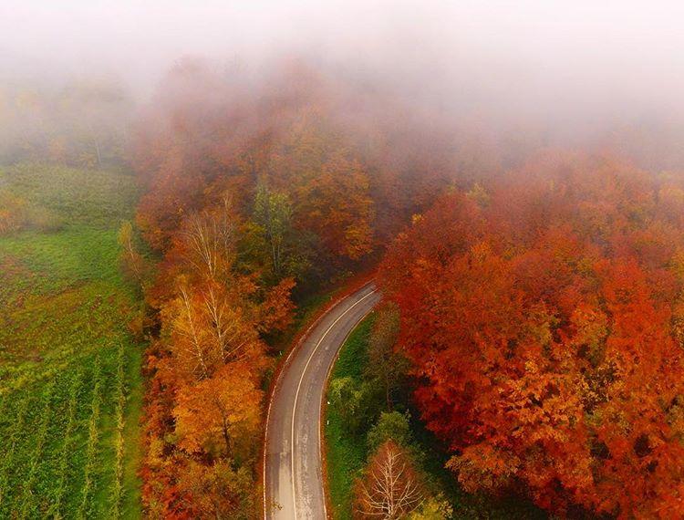 Jesenji-pejzaž Dronom iz vazduha do izuzetnih fotografija