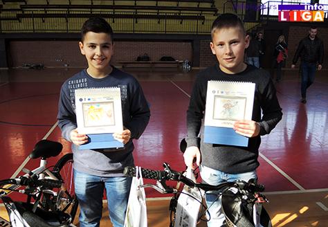 IL-bicikisti Bicikli za najuspešnije učesnike konkursa