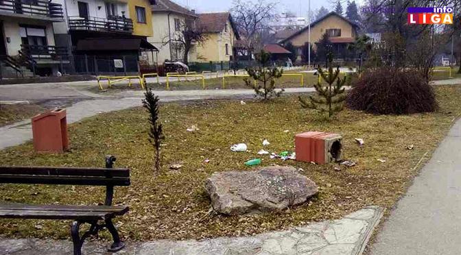Gradski park stecište delikvencije