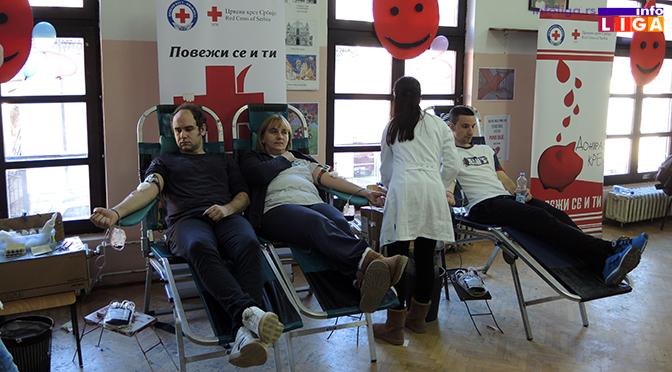 155 ljudi učestvovalo u akciji dobrovoljnog davanja krvi