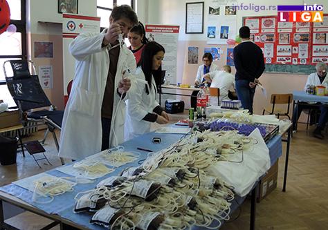 IL-dobr-dav-krvi-sretenje2 155 ljudi učestvovalo u akciji dobrovoljnog davanja krvi