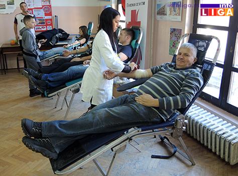 IL-dobr-dav-krvi-sretenje4 155 ljudi učestvovalo u akciji dobrovoljnog davanja krvi