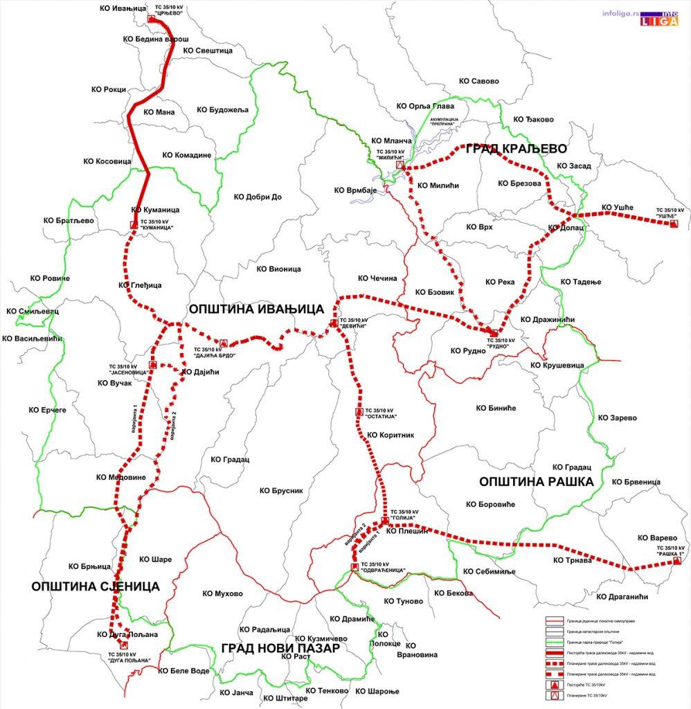IL-elektorenergetski-koridor-998x1024 Predstavljen prednacrt infrastrukturnih koridora na Goliji