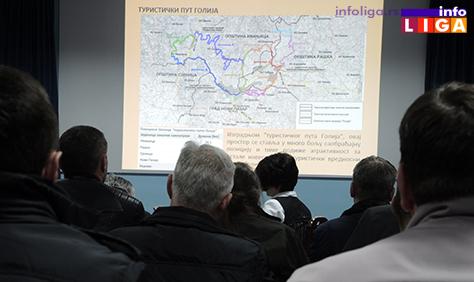 IL-prezentacija-golija Predstavljen prednacrt infrastrukturnih koridora na Goliji