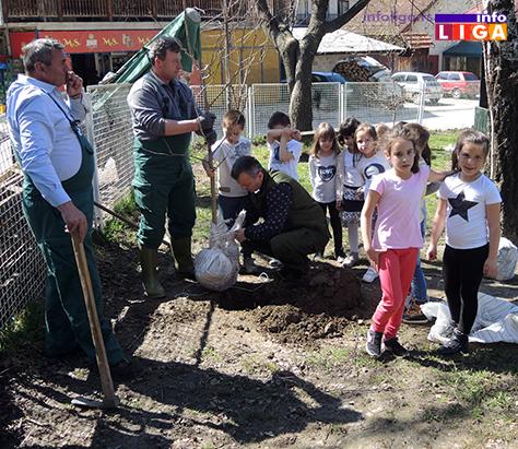 IL-dan-suma-vrtic2 Dan šuma obeležen sadnjom drveća za najmlađe