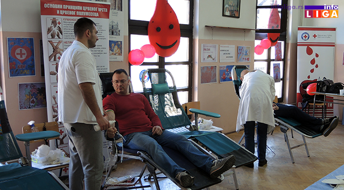 80 Ivanjičana dalo krv