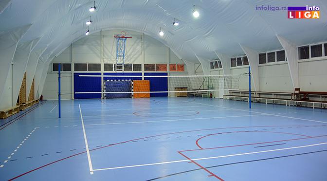 Sportska hala u Prilikama dobija savremen sistem grejanja