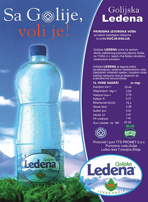 IL-Ledena-kvalitet1 Golijska LEDENA – biser među izvorskim vodama