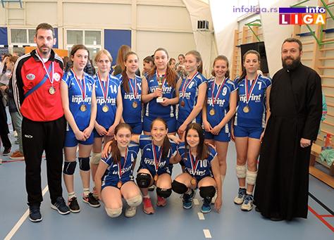 IL-Pionirke-Prvo-mesto-OK-Stars-Pozega Preko 200 devojčica učestvovalo na Vaskršnjem odbojkaškom turniru