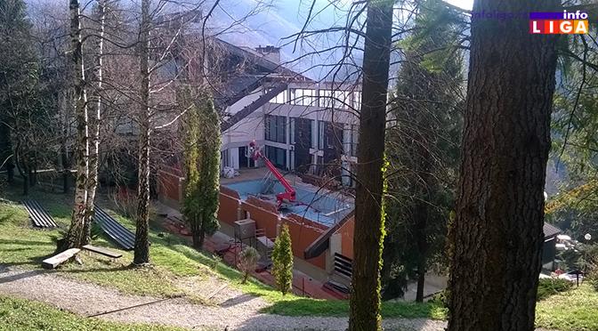 "Novi krov nad bazenom ""Anemije"""