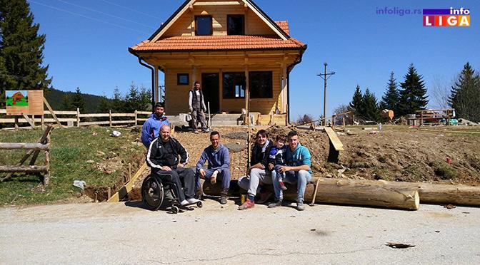 Staza za invalide na Dajićkom brdu