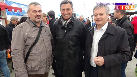 IL-Susret-sa-predsednikom-Slovenije-Borutom-Pahorom-i-župnikom-Andrejom-Župan Ivanjičani u slovenačkom carstvu čokolade