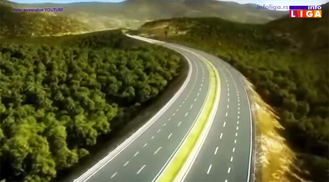Autoput preko Ivanjice kraći i znatno jeftiniji (VIDEO)