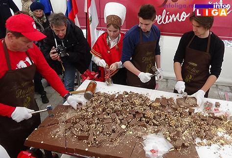 IL-cokoloda-95kg Ivanjičani u slovenačkom carstvu čokolade