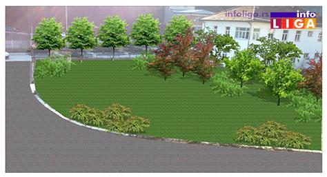 IL-idejno-resenje-DZ-1 Info LIGA saznaje kako će izgledati nove zelene površine Doma zdravlja