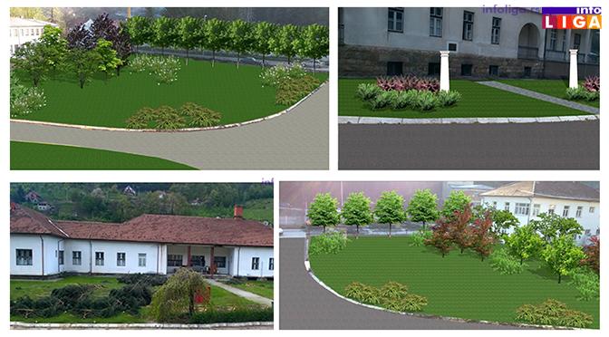Info LIGA saznaje kako će izgledati nove zelene površine Doma zdravlja