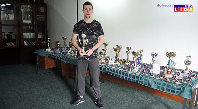 Reprezentativac Marko Popović želi da prenese znanje na mlade