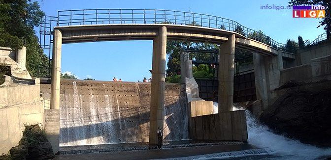 Na proleće se gradi nova MHE i ruši betonski most na brani