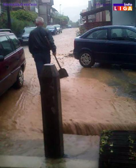 IL-Crnjevo-voda Olujno nevreme- poplaviljena dvorišta, objekti, maline