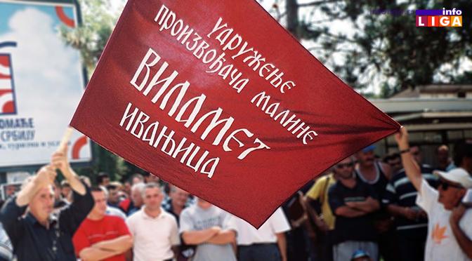 """Vilamet"" poziva malinare na protest u Arilje"