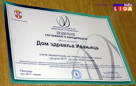 IL-akreditacija-dom-zdravlja-ivanjica1 Direktor Agencije za akreditaciju predao sertifikat Ivanjičanima