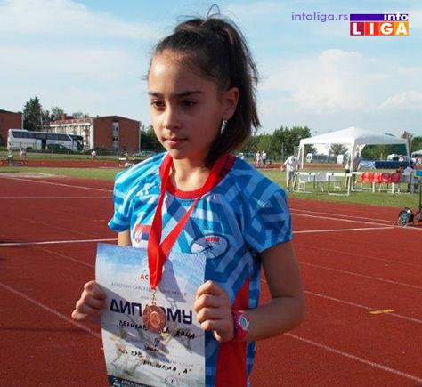 IL-atleticarka-velisavljevic-vanja Serija dobrih rezultata atletičara Javora