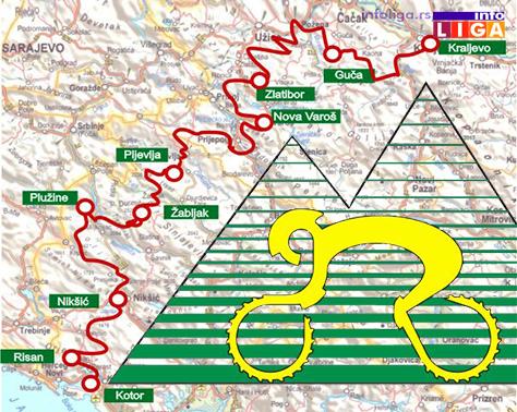 IL-maraton-mapa ČIKER mtb MARATON prvi put kroz Guču