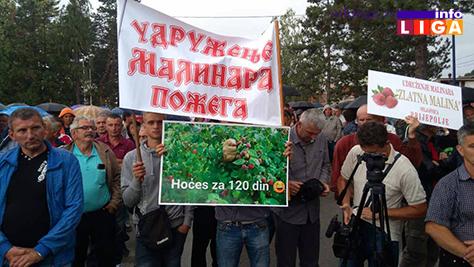 IL-protest-malinara-arilje-2017-2 Malinari traže od Vučića cenu od 225 dinara ili slede totalne blokade