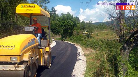 IL-put-komadine3 Novih 450 metara asfalta za meštane Komadina