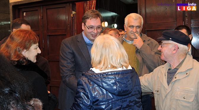 Predsednik Srbije u ponedeljak će posetiti Lučane i Gornji Milanovac