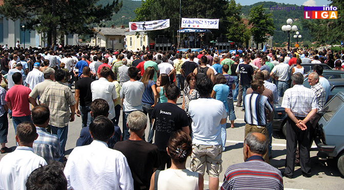 Malinari kreću sa protestima iz Arilja