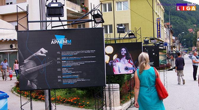 ARLEMM – Umetnički karavan u centru Ivanjice