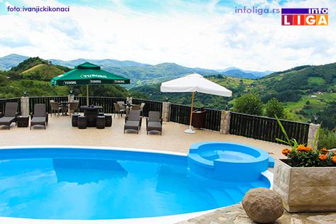 IL-bazen-ivanjicki-konaci Ivanjica na listi najboljih destinacija za odmor u Srbiji
