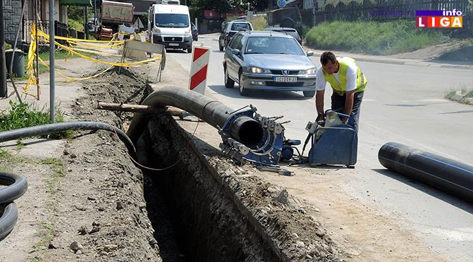 Ivanjica menja azbestno-cementne vodovodne cevi