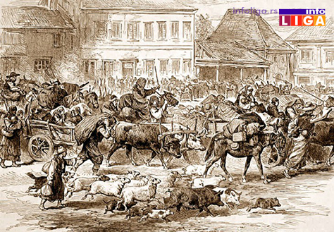 IL-ivanjica-1876-zbegovi-sa-granice-na-Javoru Na današnji dan počeo Javorski rat