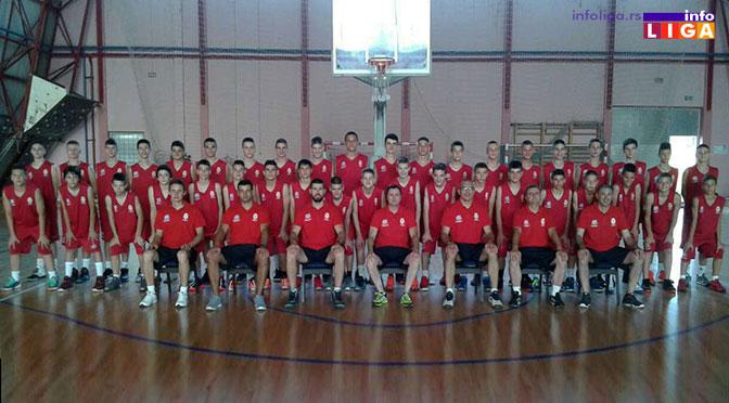 Ivanjičani na košarkaškom kampu u Karatašu