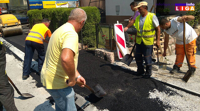 Rekonstrukcija i izgradnja ulica i trotoara u gradskom i prigradskom području