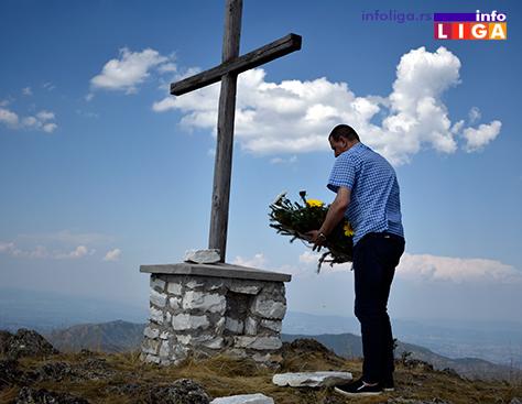 IL-cemerno-2017-postavljanje-venca-predsednik-opstine Na Čemernu postavljen vojnički krst i kamen temeljac za spomen kapelu