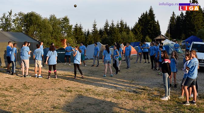 Čitava Srbija na Goliji u omladinskom kampu