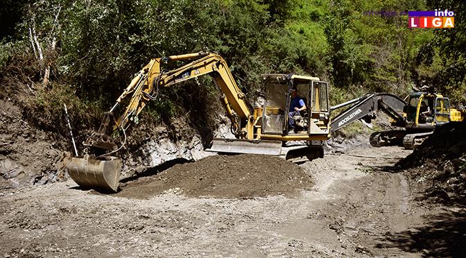 Stigla vojska – počinje rekonstrukcija puteva (VIDEO)